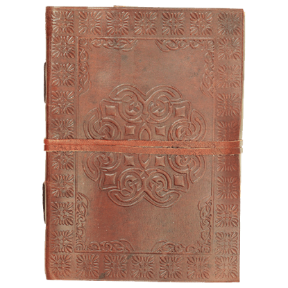 Embossed Celtic Knot Leather Journal