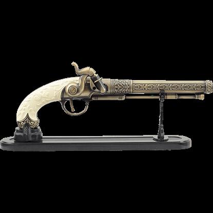 Ivory-Handled Dueling Flintlock