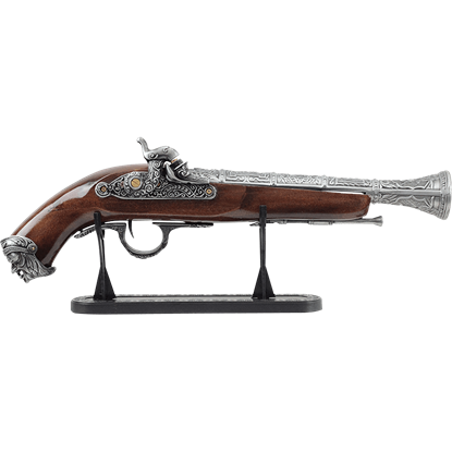 Engraved Pirates Flintlock