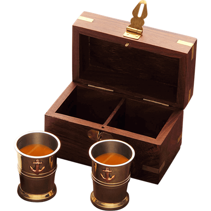 Captains Cups with Storage Box