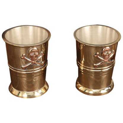 Pirate Captain Cups