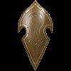 LARP Elven Battle Shield