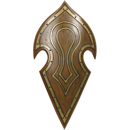 LARP Elven Battle Shield