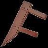 Studded Wooden Seax