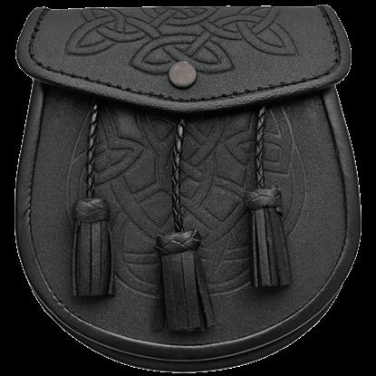 Celtic Knot Tasseled Sporran