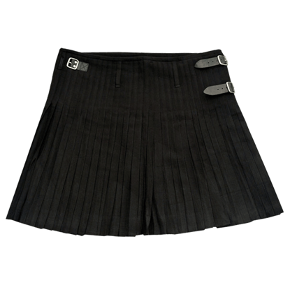 Black Urban Kilt