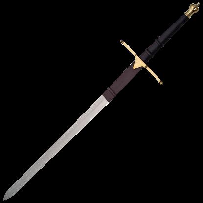 Short Brass Wallace Sword