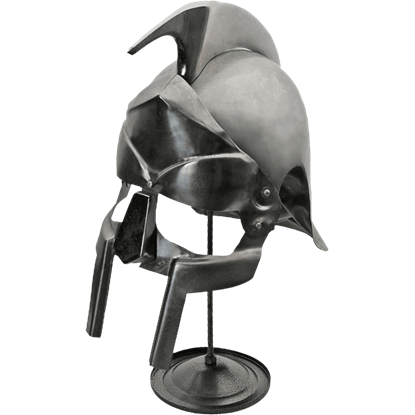 Gladiator Helmet with Stand