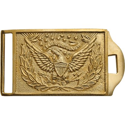 Gold US Eagle Belt Buckle