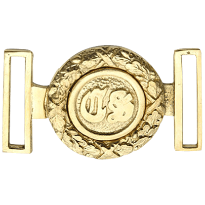 Brass CS Belt Buckle