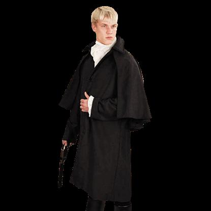 Charcoal Grey Baker Street Coat