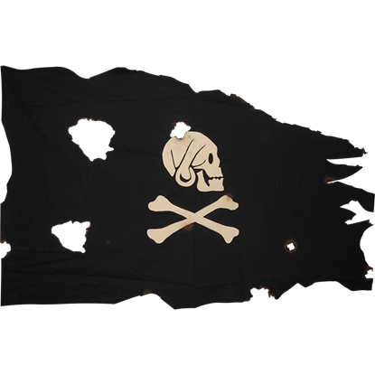 Battle Worn Small Henry Avery Flag