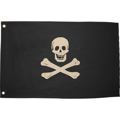 Medium Jolly Roger Flag