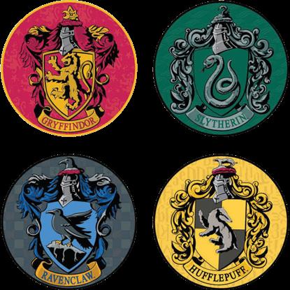 Harry Potter Houses 4 Piece Coaster Set
