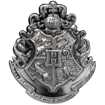 Hogwarts School Crest Lapel Pin