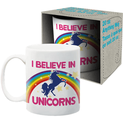 I Believe in Unicorns Coffee Mug