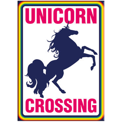 Unicorn Crossing Magnet