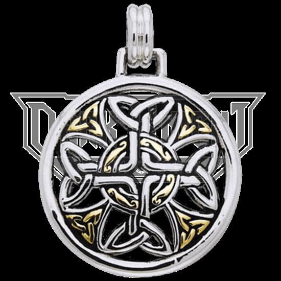 Celtic Elegance Cross Pendant