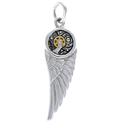 Steampunk Angel Wing Pendant