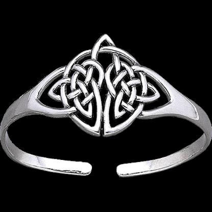 Silver Celtic Knotwork Bracelet