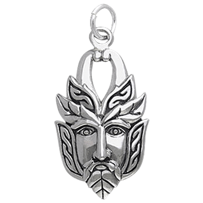 Celtic Greenman Charm