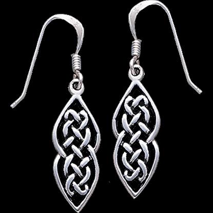 Endless Knots Celtic Earrings