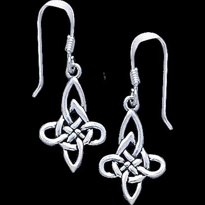 Eternal Celtic Knotwork Earrings