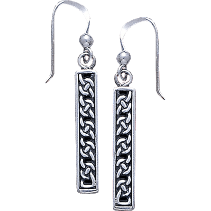 Celtic Knotwork Dangle Earrings