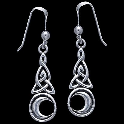 Silver Moon Magick Earrings