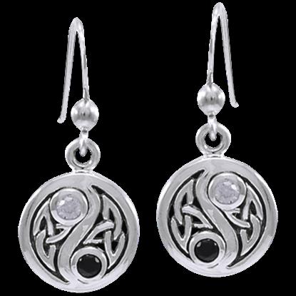 Celtic Knot Harmony Earrings