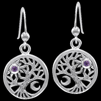 Tree of Celestial Power Earrings