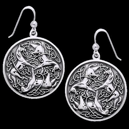 Celtic Horses Earrings