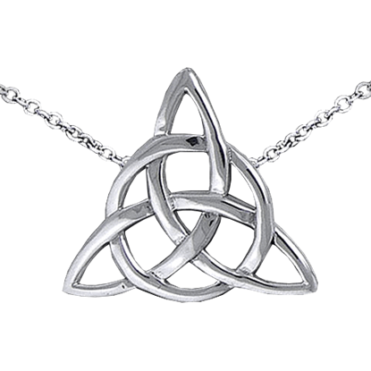 Silver Triquetra Necklace