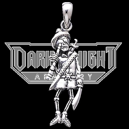 Pirate Skeleton Pendant