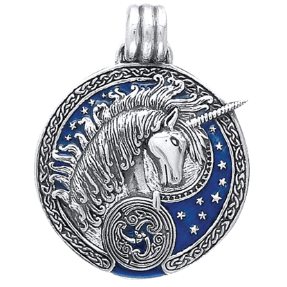 Celtic Unicorn Pendant