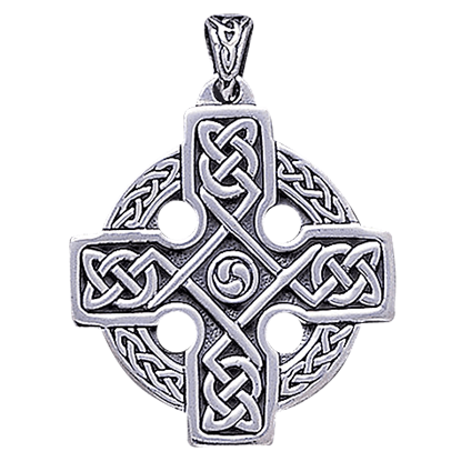 Celtic Knotwork Cross Pendant