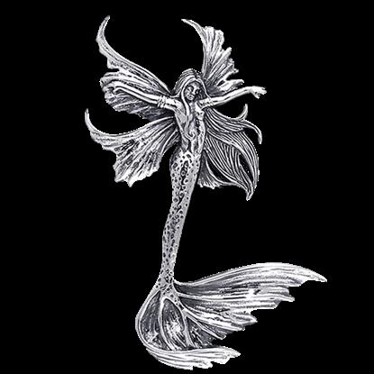 Sea Sprite Fairy Pendant