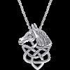 Celtic Horsehead Pendant