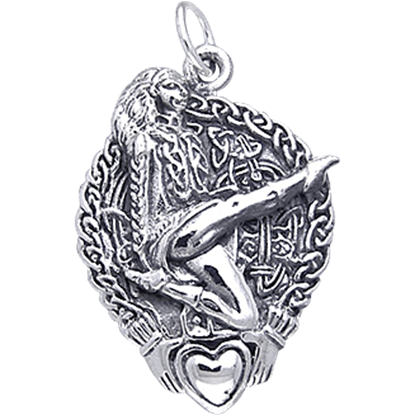 Celtic High Kick Dancer Charm