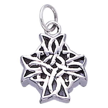 Celtic Knot Cross Charm