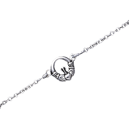 Celtic Claddagh Anklet