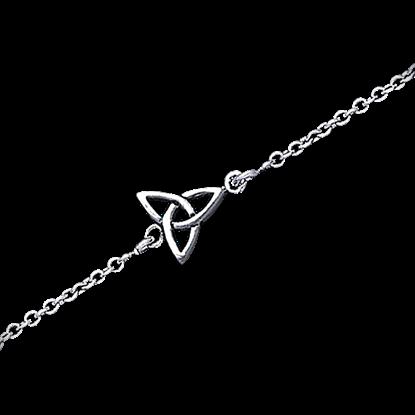 Celtic Triquetra Knot Anklet