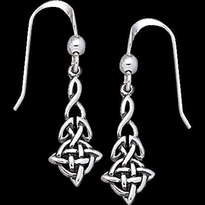 Celtic Extended Quaternary Earrings