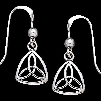 Celtic Triquetra Dangle Earrings