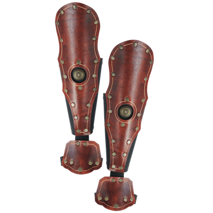 Praetorian Leather Bracers
