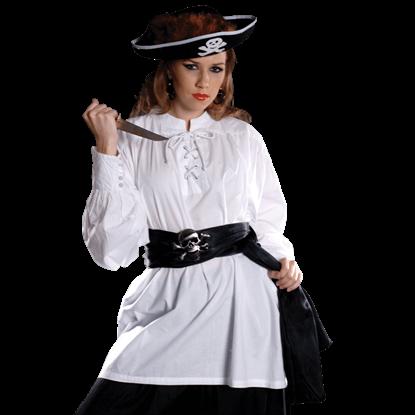 Grace O'Malley Woman Pirate Shirt