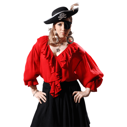 Barbarossa Female Pirate Blouse
