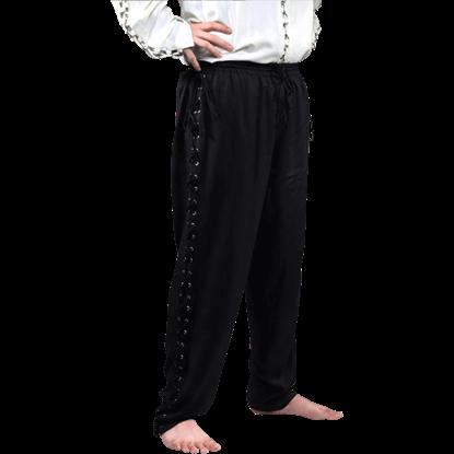 Lace Up Pirate Pants