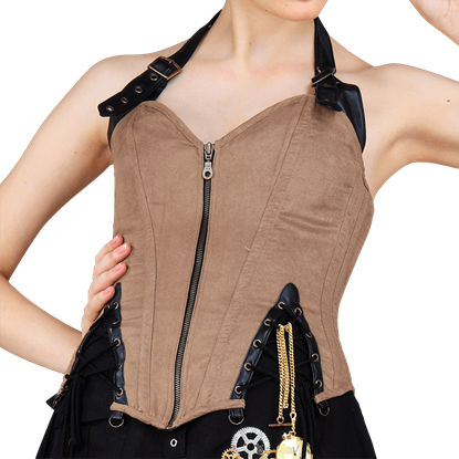 Captain Of The Skies Overbust Corset
