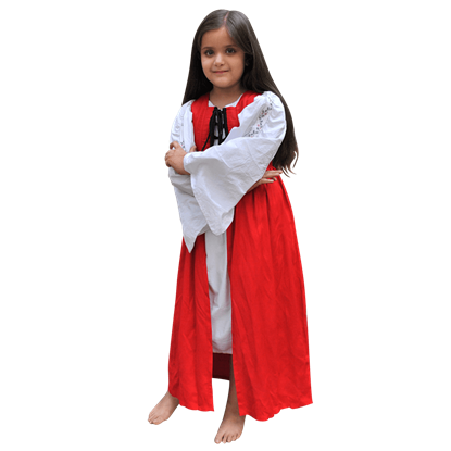 Girls Medieval Market Dress